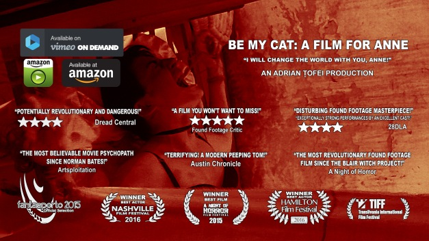 be my cat horizontal poster with buttons