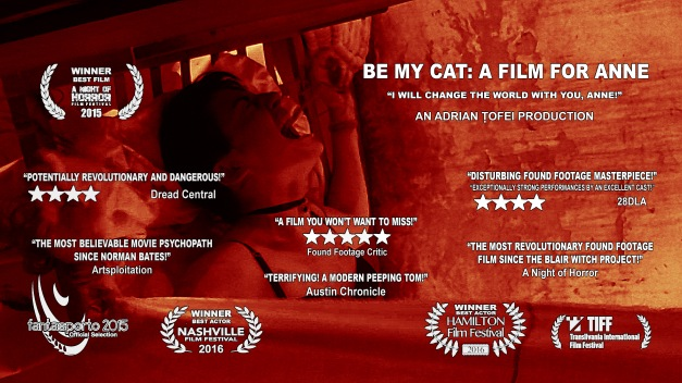 Be My Cat Horizontal Poster for Amazon