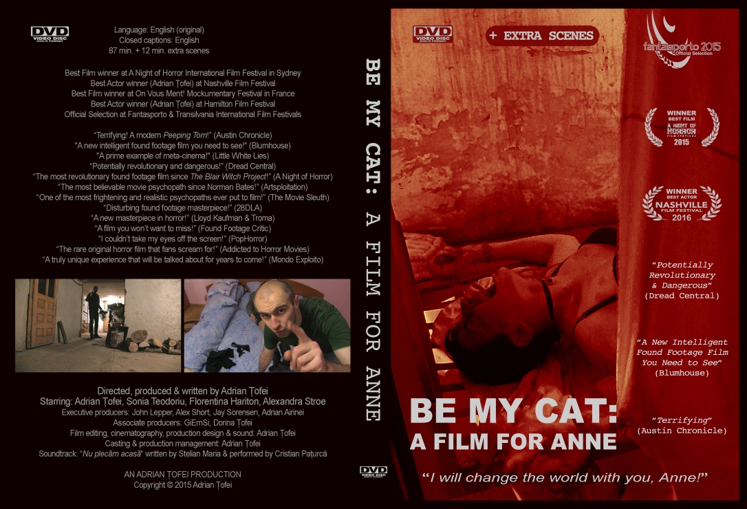 Be My Cat DVD - Original Poster Cover