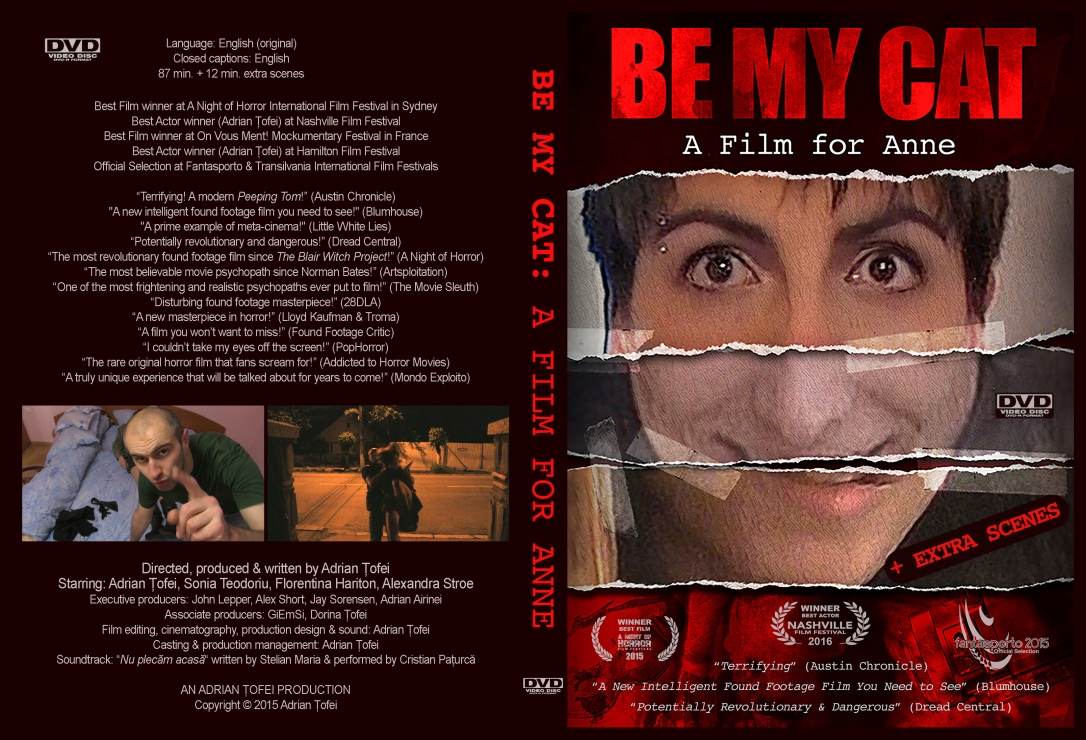 Be My Cat DVD - New Poster Cover